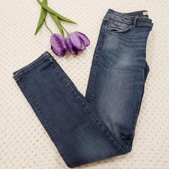 Zara Basic Denim Straight Leg Jeans